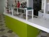 Banco bar con vetrinetta espositrice