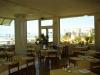Sala da pranzo con vista mare