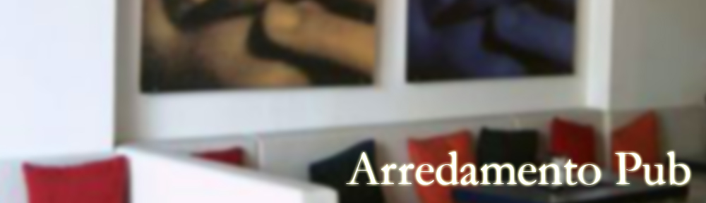 Arredi per pub e wine bar for Pub arredamento