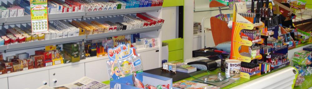 Arredamento negozi tabaccheria a gabicce for Arredamento bar tabacchi usato